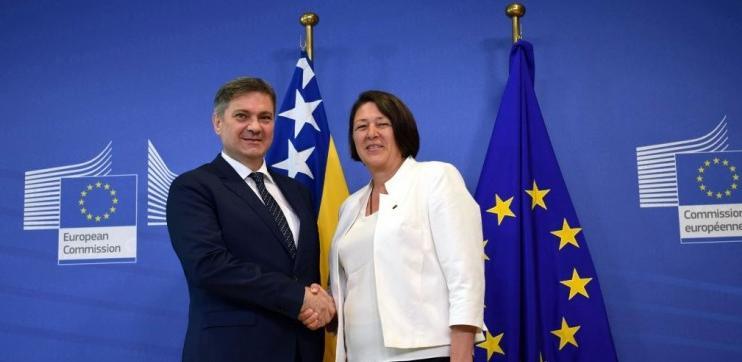 Zvizdić i Bulc: Saobraćajno povezivanje značajno za napredak regije