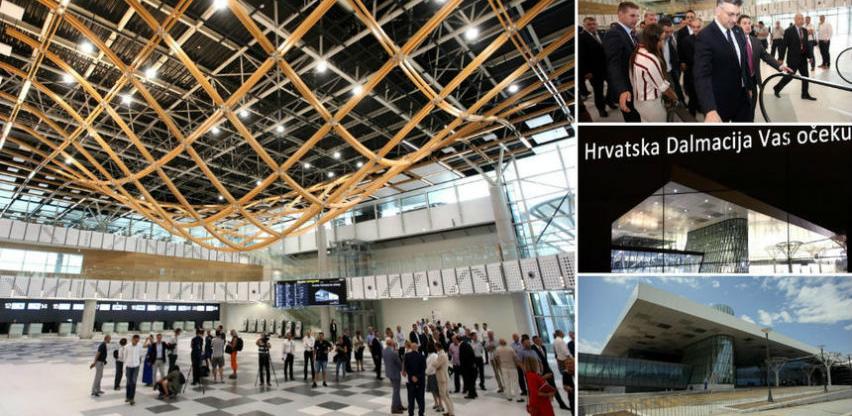 Otvoren novi putnički terminal na splitskom aerodromu