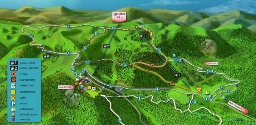 OC Jahorina priprema izgradnju najdužeg alpin kostera u Evropi