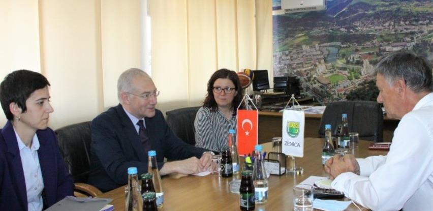 Novi turski ambasador Sadik Babur Girgin prvi put posjetio Grad Zenicu i ZDK