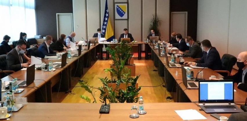 Vijeće ministara odobrilo 2.000.000 KM za troškove protivmjera protiv COVID-19