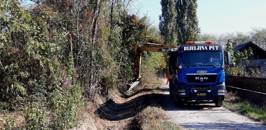Počela rekonstrukcija puta za poslovnu zonu u Pelagićevu