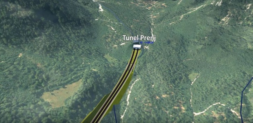Uskoro tender za tunel Prenj: Pogledajte kako će izgledati
