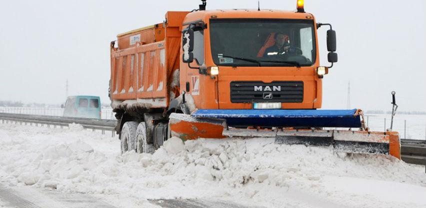 Upozorenje firmama na poslovima zimskog održavanja