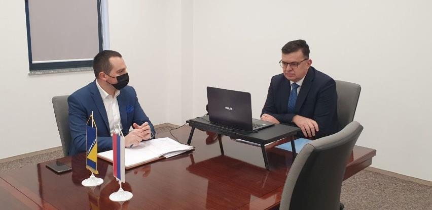 Tegeltija razgovarao sa potpredsjednicom EIB-a o strateškim prioritetima BiH