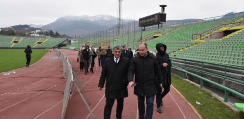 Intenzivirani radovi na uređenju stadiona na Koševu povodom EYOF-a