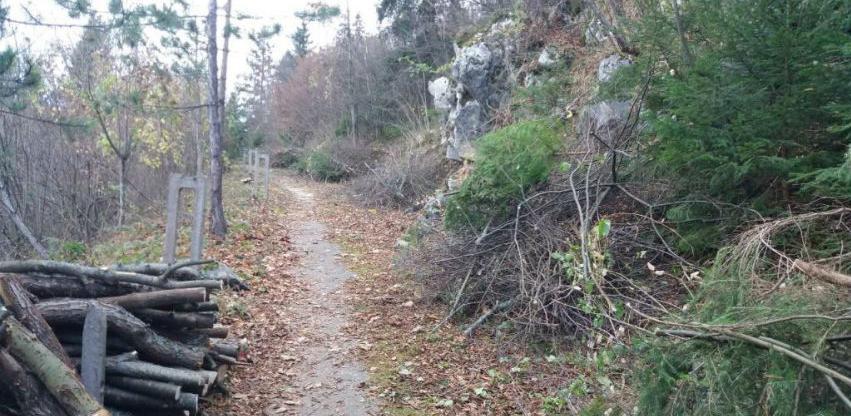 Na Trebeviću se uređuju i prijeratne pješačke staze
