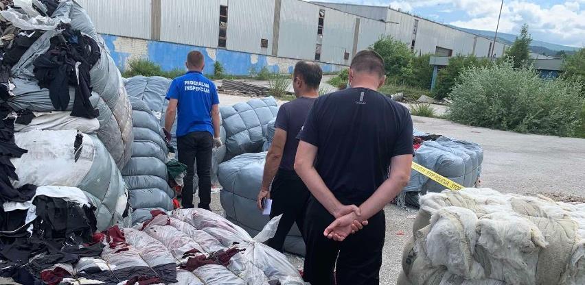 Sporni otpad iz Italije narednih dana će biti odvezen iz Drvara