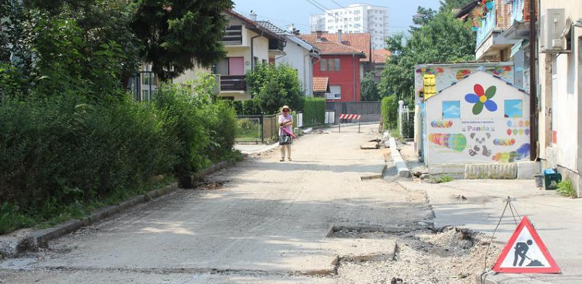 Na području općine Ilidža u toku asfaltiranje19 ulica