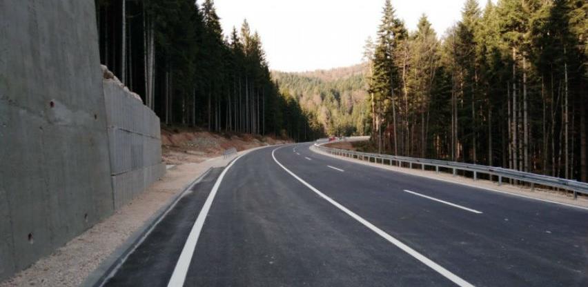 Konačno završeni radovi na prijevoju Karaula, vozači dobili 4,5 km moderne ceste