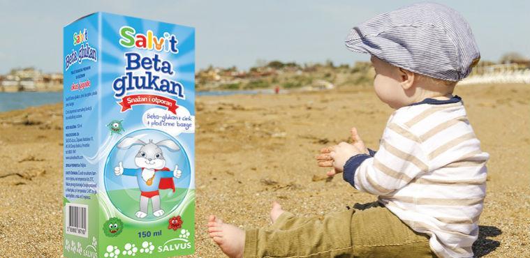 Salvit Beta Glukan - da bi najmlađi bili snažni i otporni!