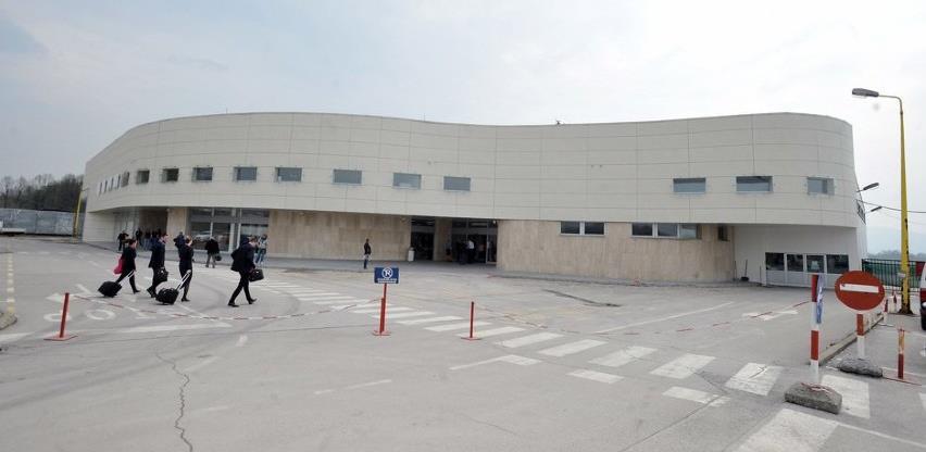 Aerodrom u Tuzli uveo taksu, dvije marke po odlazećem putniku