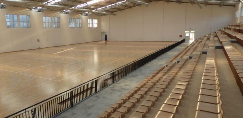Sport Net Inženjering oprema dvoranu u Orašju