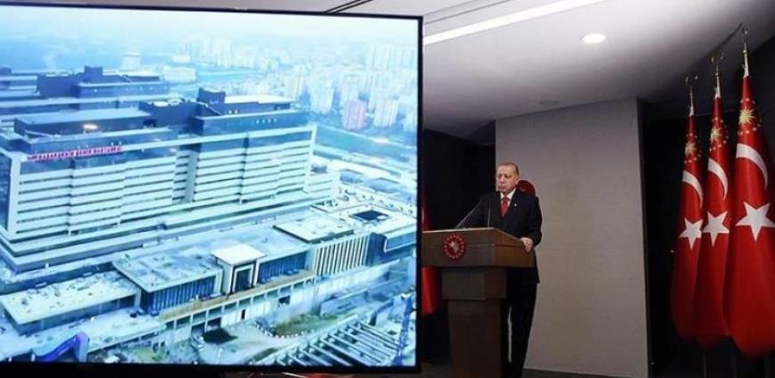 Erdogan u Istanbulu otvorio bolnicu površine milion kvadratnih metara