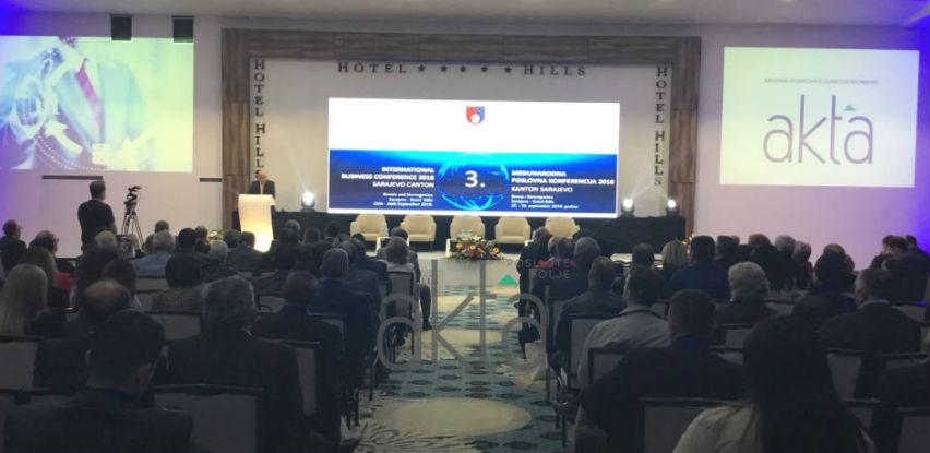Otvorena Međunarodna poslovna konferencija Kantona Sarajevo