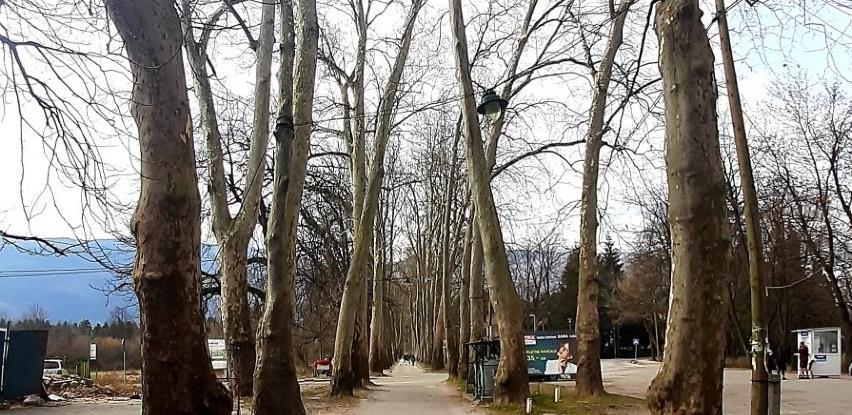 Uređuje se Velika aleja na Ilidži i put prema Stojčevcu