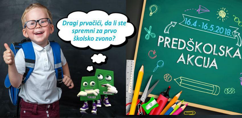 Bingo: Predškolska akcija ruksaka i školskog pribora