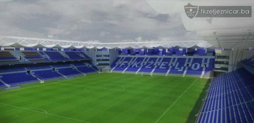 U maju počinje rekonstrukcija glavnog terena Stadiona Grbavica