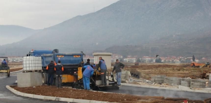 Vlada pomaže završetak kružnog toka u Mostaru