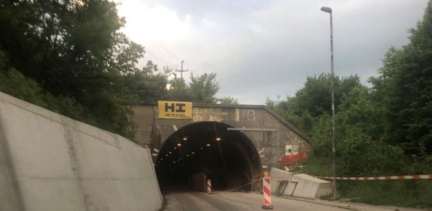 Ceste FBiH: Radovi na sanaciji tunela u Čaklovićima u završnoj fazi
