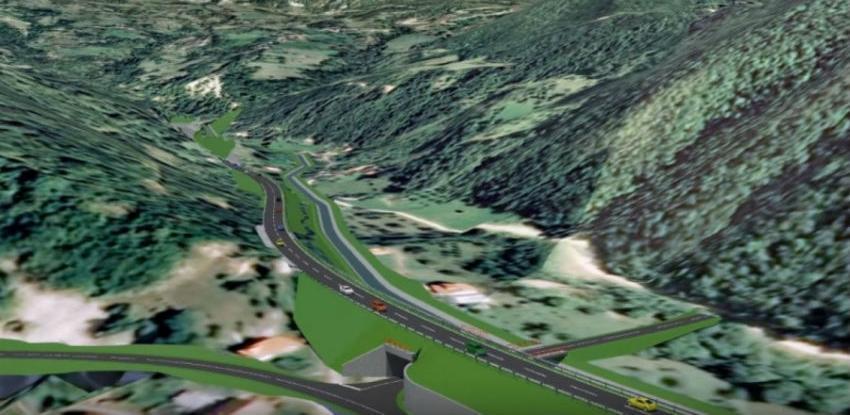 Objavljen tender za izradu idejnog projekta brze ceste Prača - Goražde