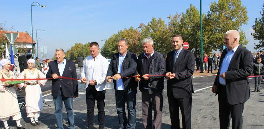 Kružni tok u Sokolović Koloniji svečano pušten u promet