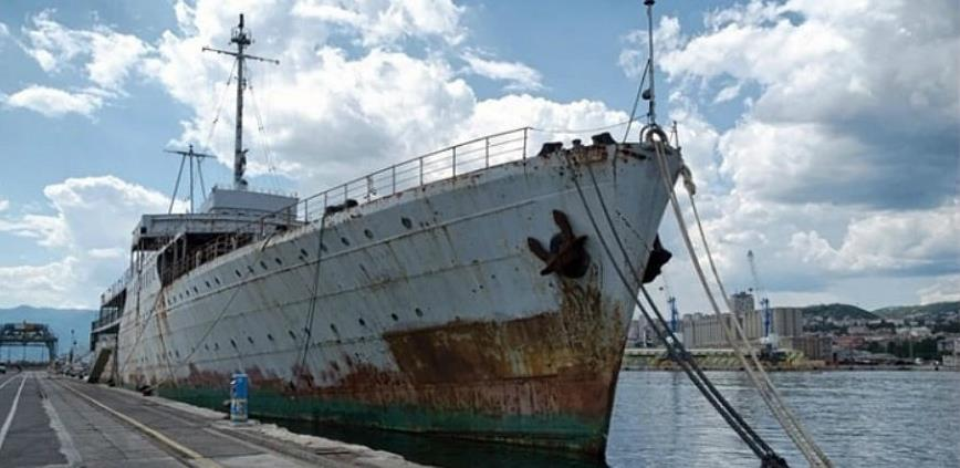Titov brod Galeb postaje muzej