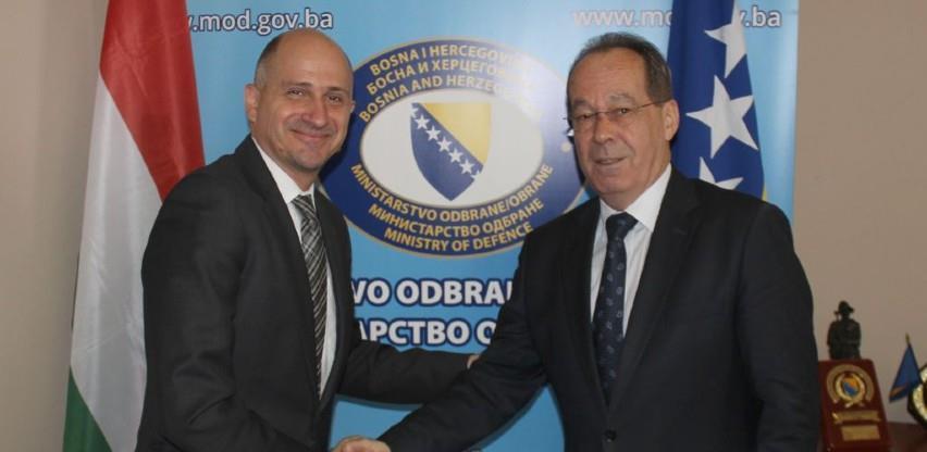 Nastavak intenzivne saradnje BiH i Mađarske u oblasti odbrane