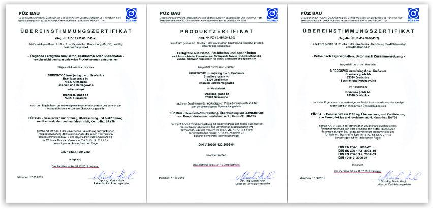 Građevinska kompanija Širbegović dobila cerfikat za tržište Njemačke
