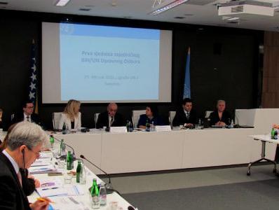 Održana prva sjednica Zajedničkog upravnog odbora BiH i UN-a