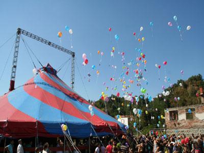 Kamp za učenje cirkuskih vještina