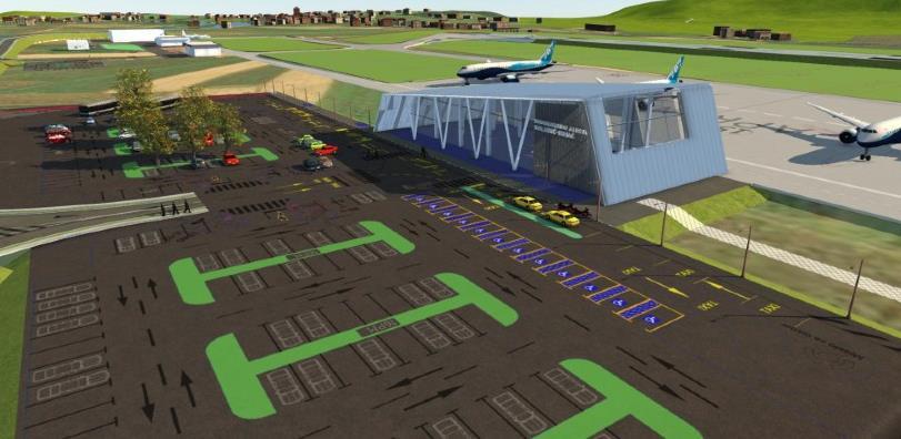 Aerodrom Bihać aplicirao za novac za nadzor nad izgradnjom testne dionice piste