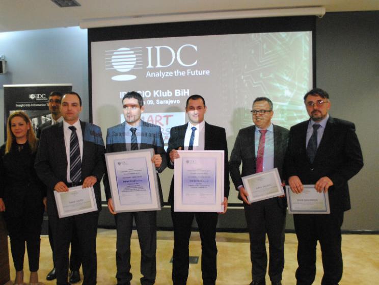 IDC Adriatics: Strojil i Galić osvajači prvih CIO nagrada u BiH