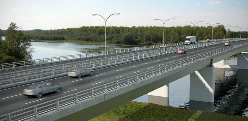 Sve spremno za početku gradnje mosta preko rijeke Save kod Gradiške