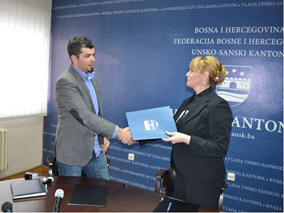 Potpisan ugovor o izradi prostornog plana USK-a