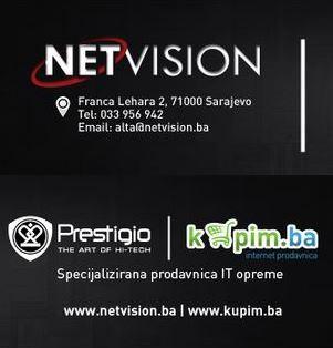 Kompanija Netvision: Specijalizirana prodavnica Prestigio IT opreme