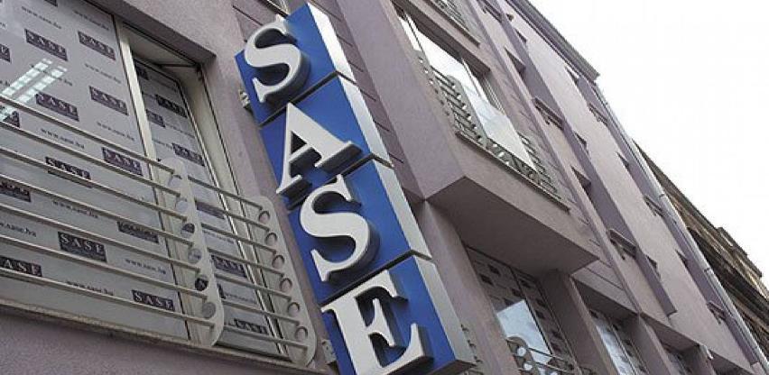 Na današnjem trgovanju na SASE ostvaren promet od 370.775,40 KM