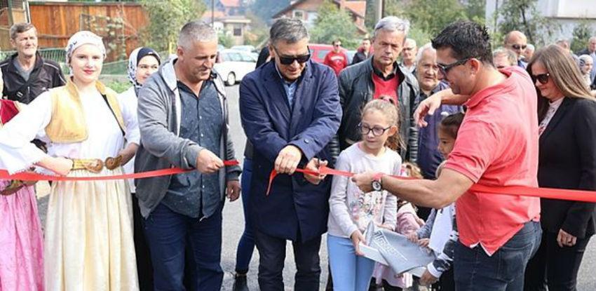 U funkciju stavljena rekonstruisana Štrosmajerova ulica u Zenici
