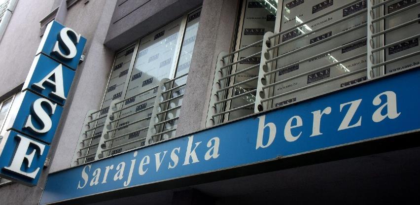 Na Sarajevskoj berzi ostvaren proment od 195.612,13 KM