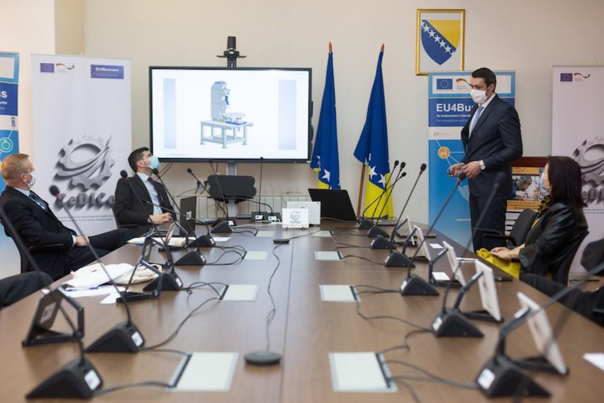 U Zenici otvoren Centar za digitalizaciju, inovacije i konkurentnost metalne industrije