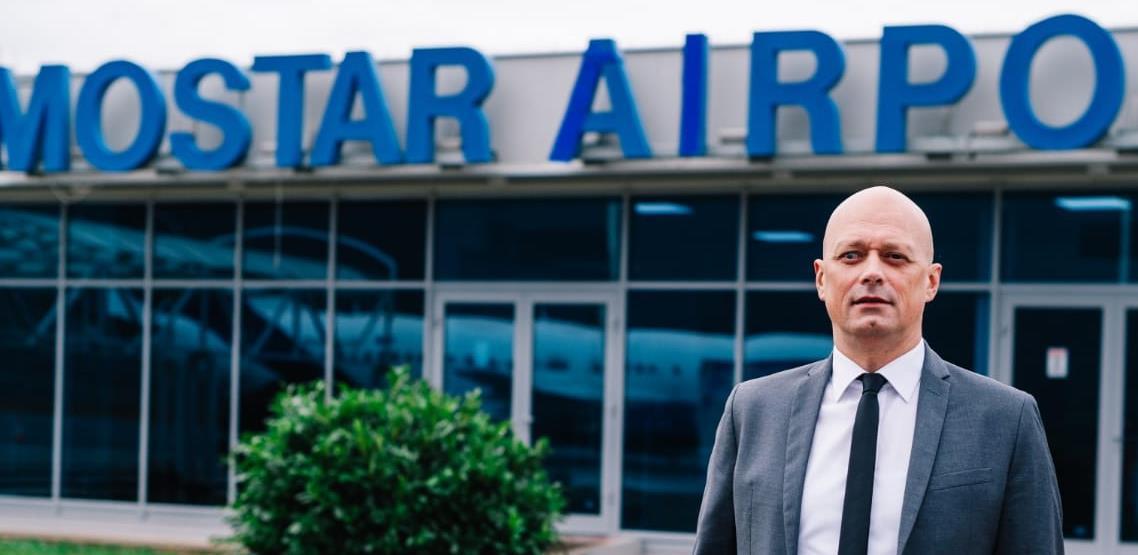 Mostarski aerodrom planira uspostavu cargo prometa i baze za gašenje požara u regiji