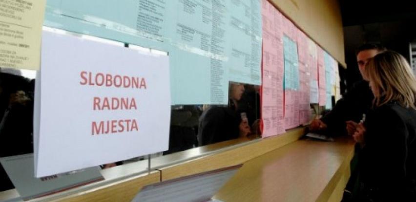 U Federaciji BiH u oktobru manji broj nezaposlenih osoba