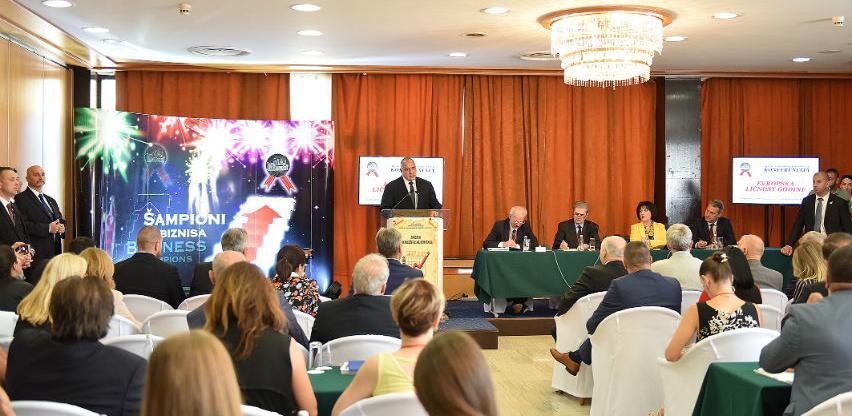 Održana konferencija Summit uspješnih menadžera:Boyko Borissov ličnost godine