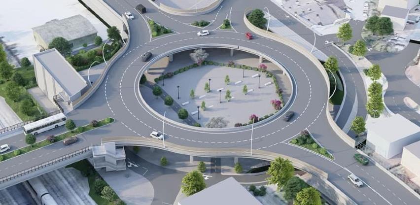 Ovako bi trebao izgledati kružni vijadukt u naselju Boljakov Potok