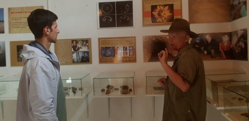 Đoković u posjeti Bosanskoj dolini piramida