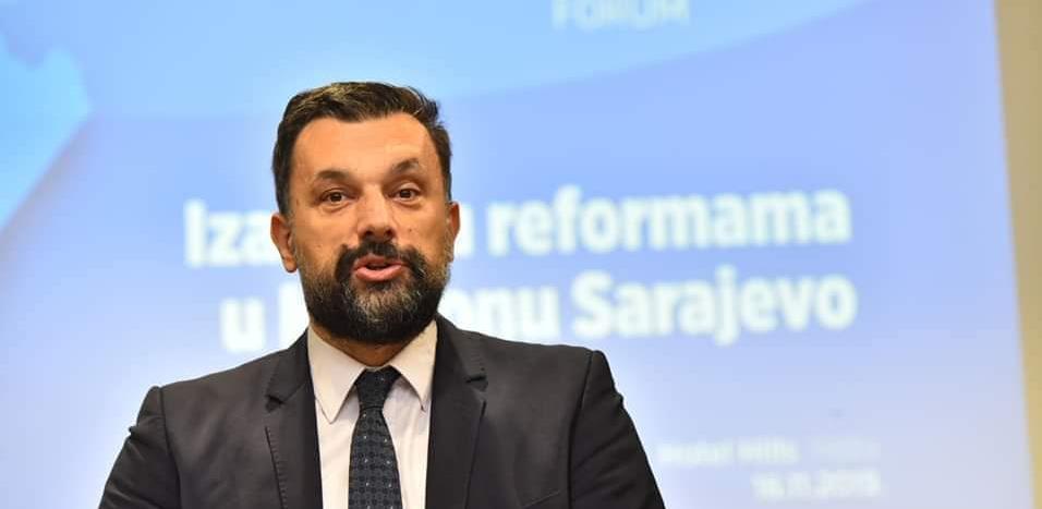 Konaković razriješen, Čelik predsjedavajući Skupštine Kantona Sarajevo