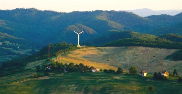 Puštena u rad vjetroelektana u općini Visoko