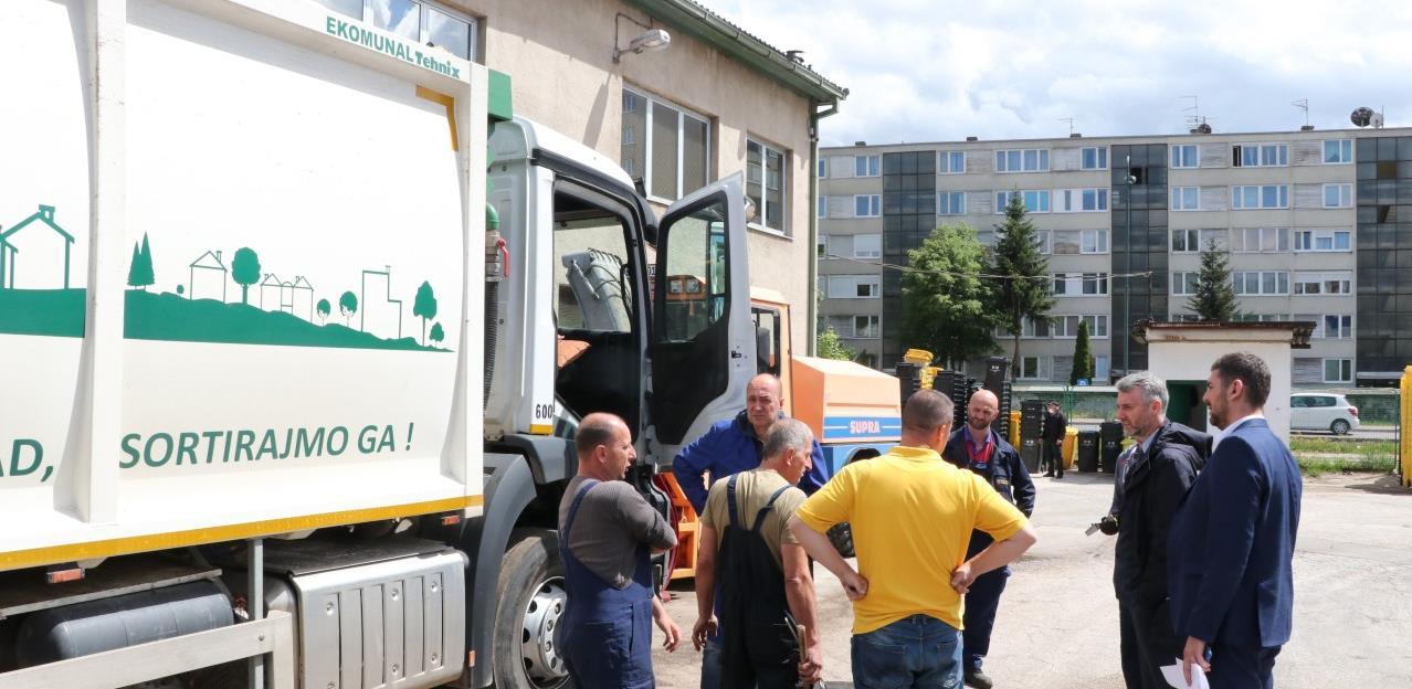 KJKP Rad odobreno 1,6 miliona KM za novu opremu i vozila