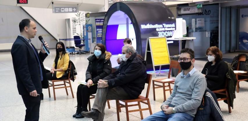 Sarajevski aerodrom poboljšava uslove za slijepa i slabovidna lica
