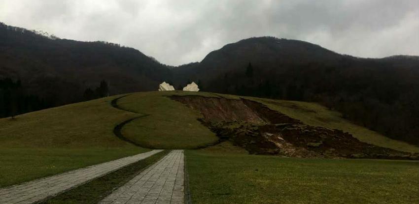 Ugrožena kosturnica, ali ne i spomenik na Sutjesci